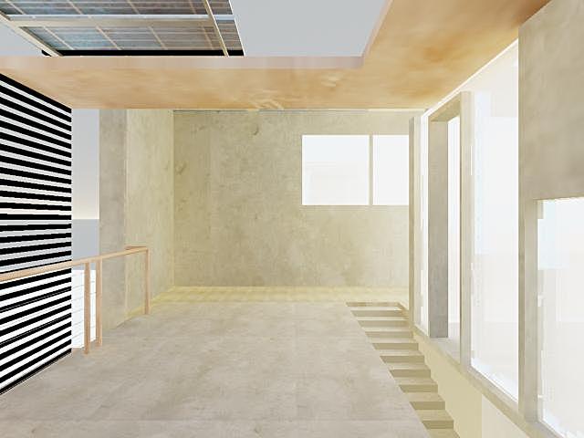 second floor interior rendering