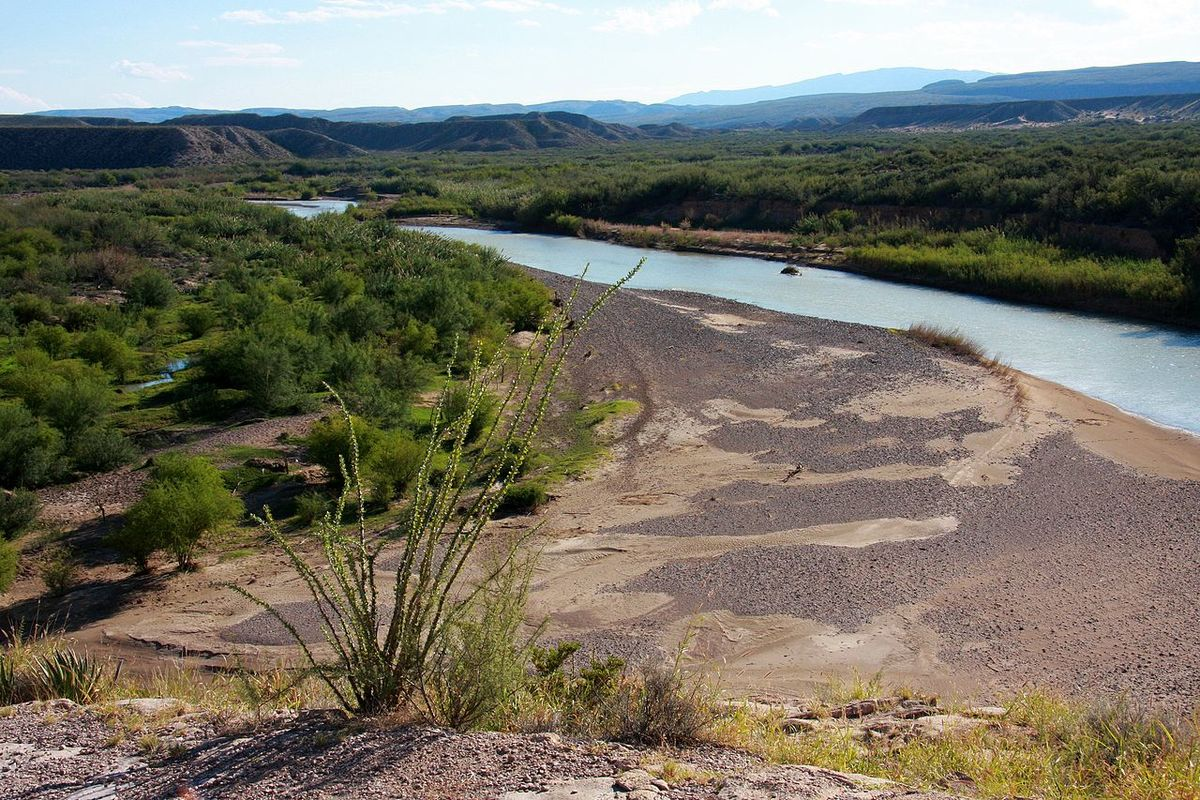 The Rio Grande along the U.S./Mexico border. Image: Wikipedia