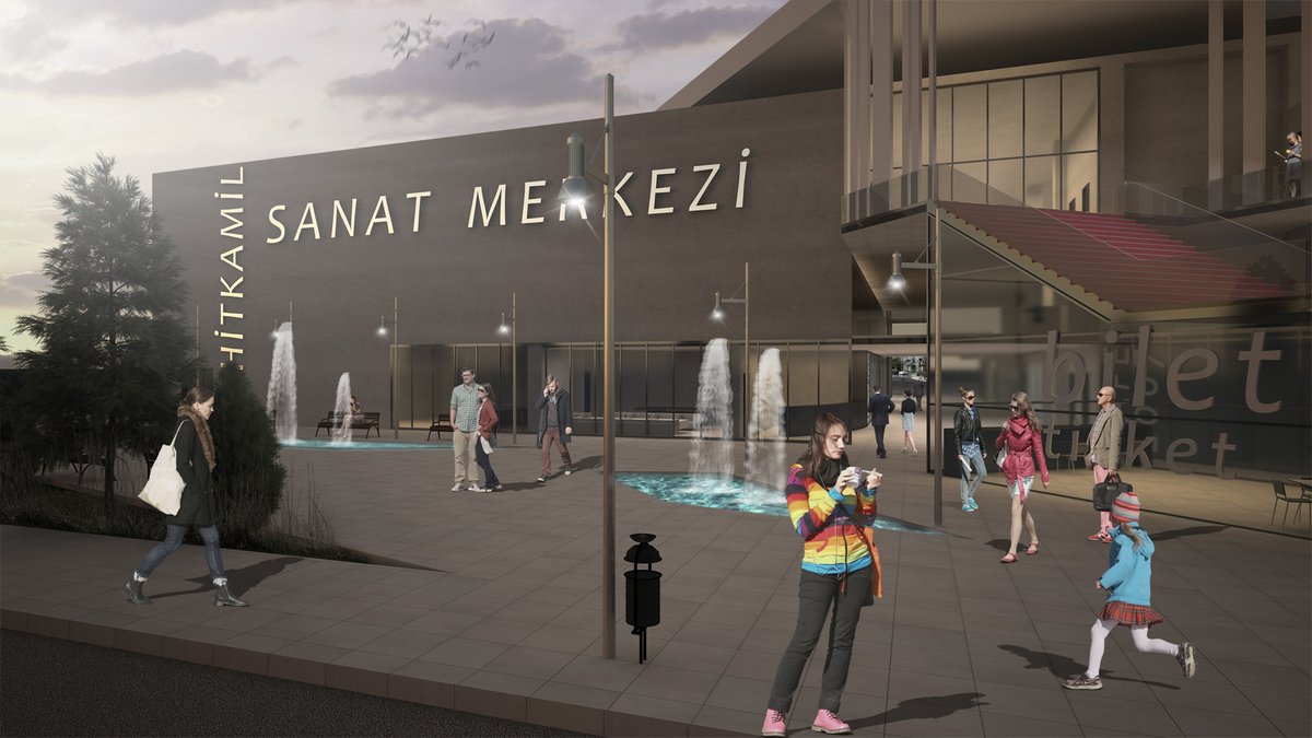 Art Center 3, Gaziantep, Turkey