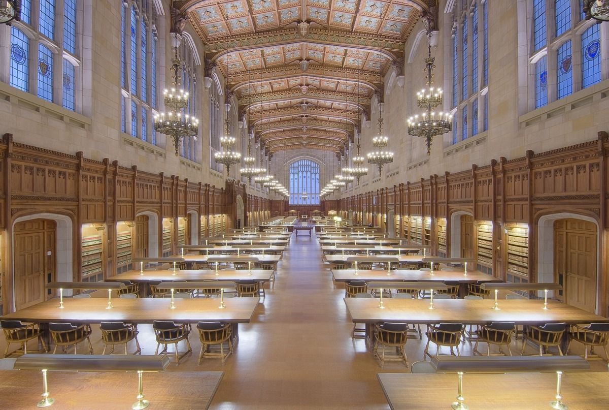 University of Michigan Law School, William W. Cook Legal Library ...