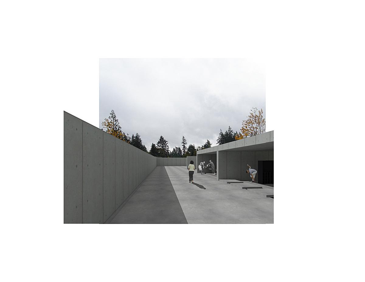 temple enclosure