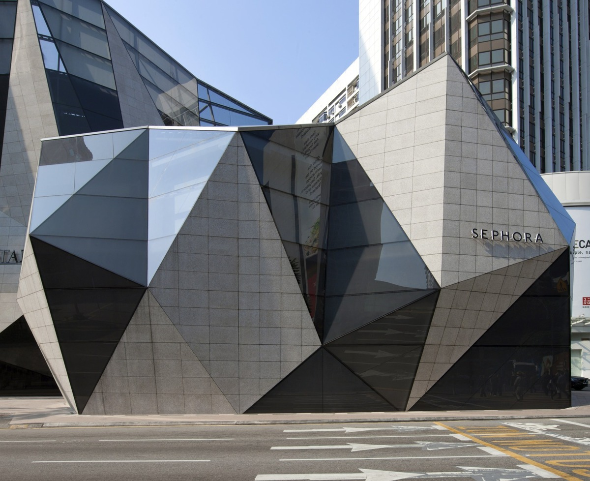 Starhill gallery spark archinect for Architecture triangulaire