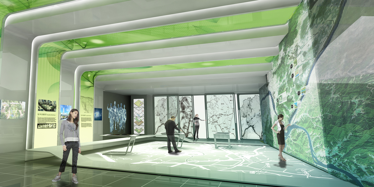 The Design For A City Information Centre Hong Young Park
