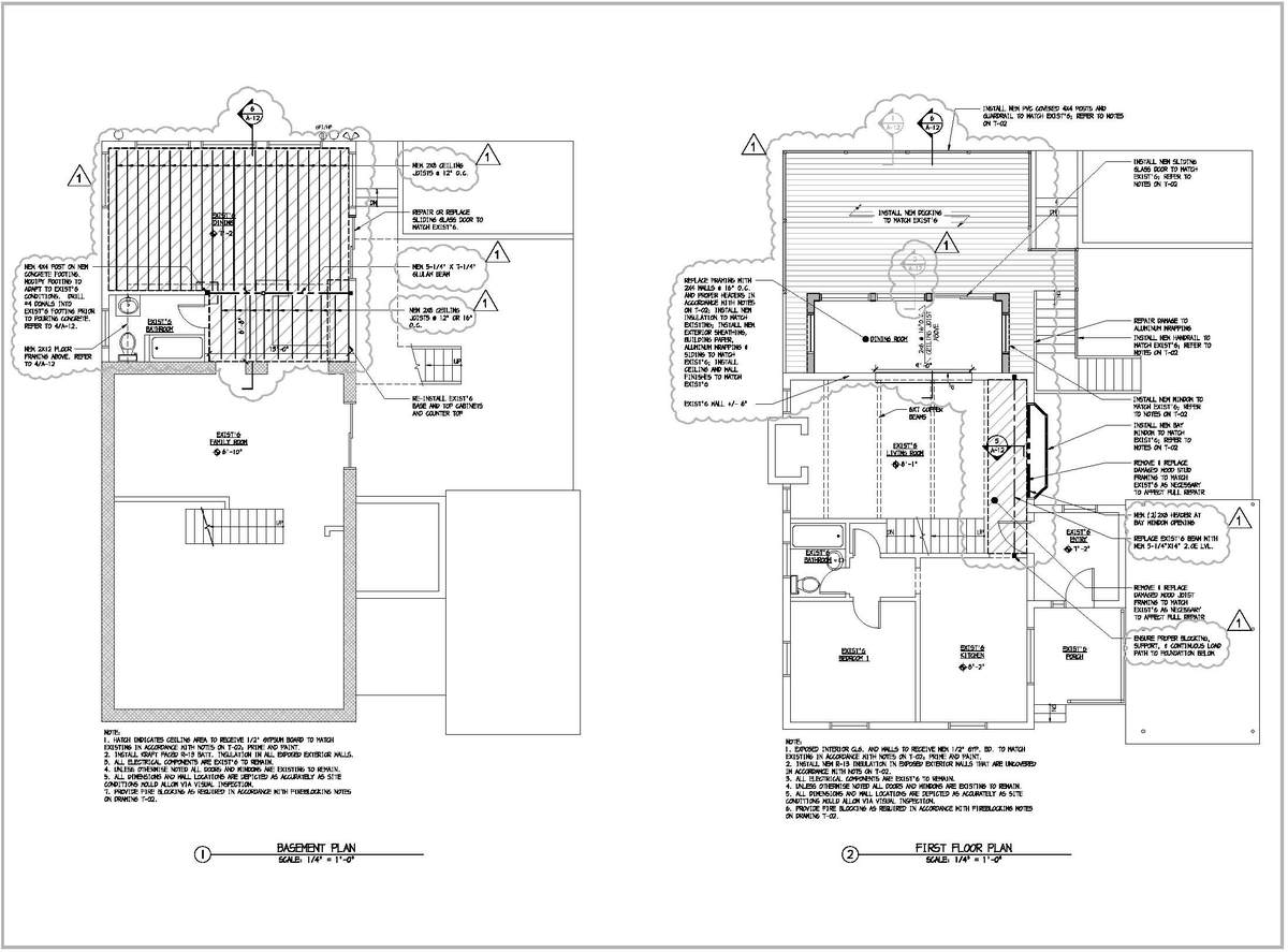 Denville Residence - Construction Documents and Structural Evaluation