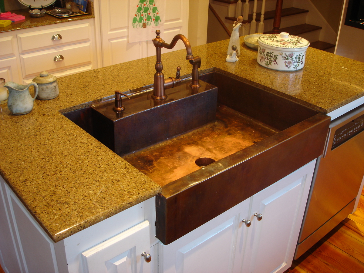 Custom Copper Kitchen Sink Joel Misita Archinect