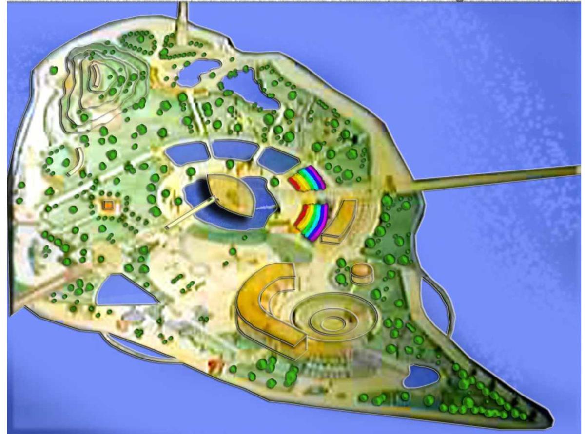 Karoon Island - Park design