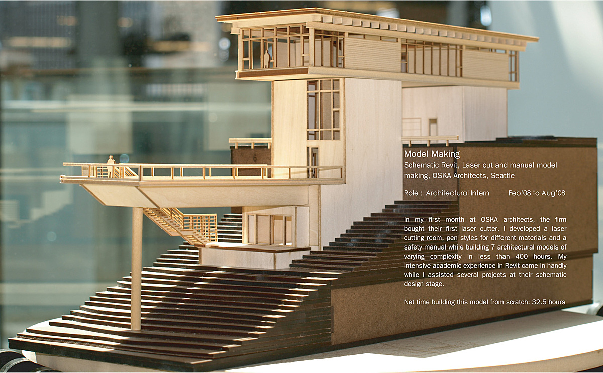 architectural model making design interior