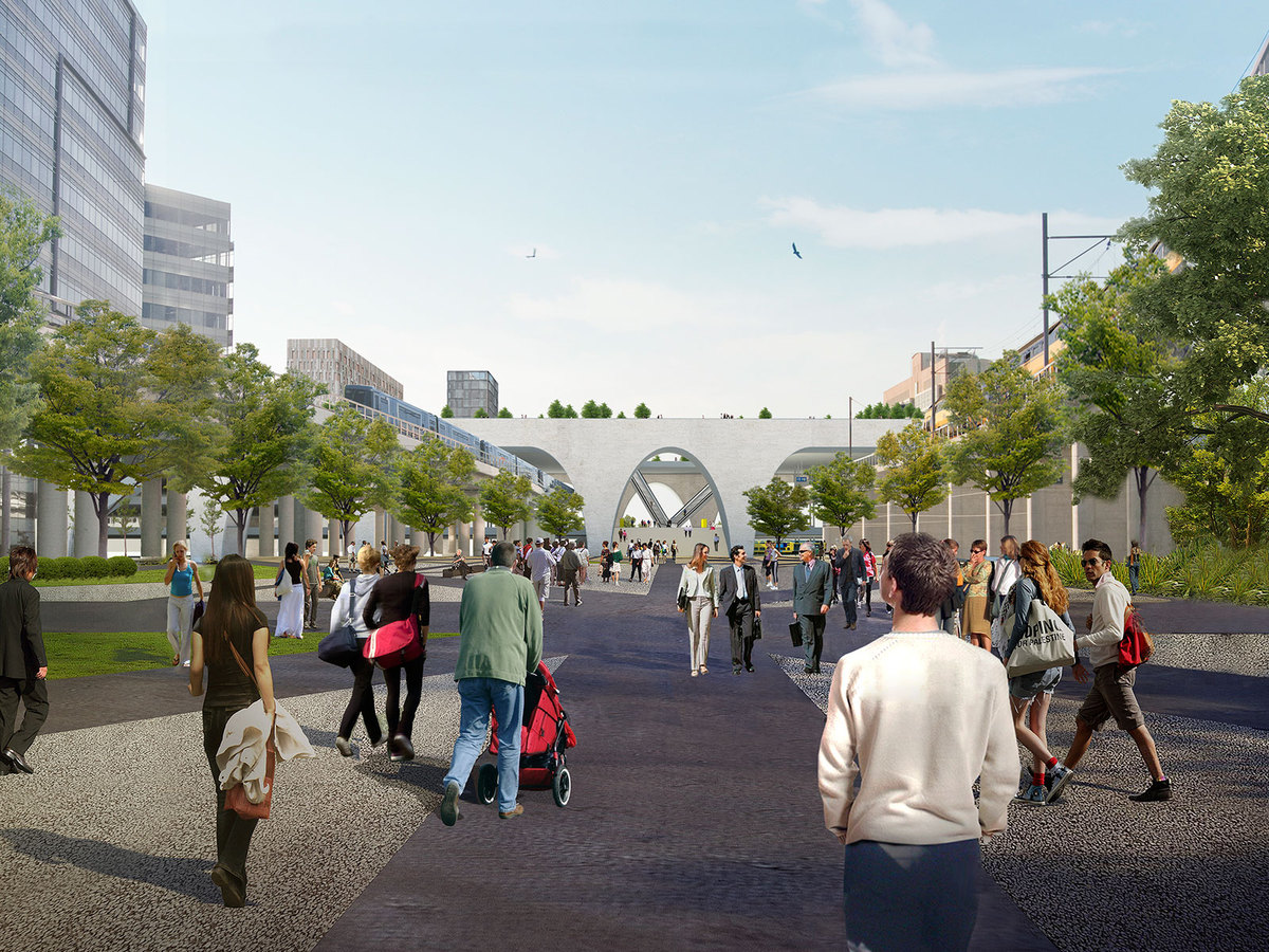 Transformation of the public space
