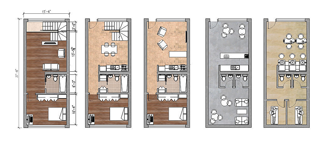 Possible Internal layouts