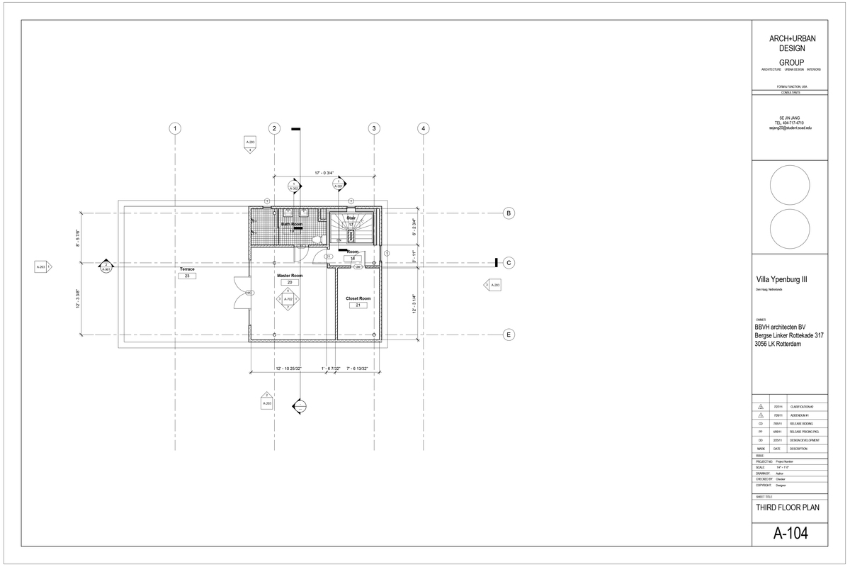 Thrid floor Plan