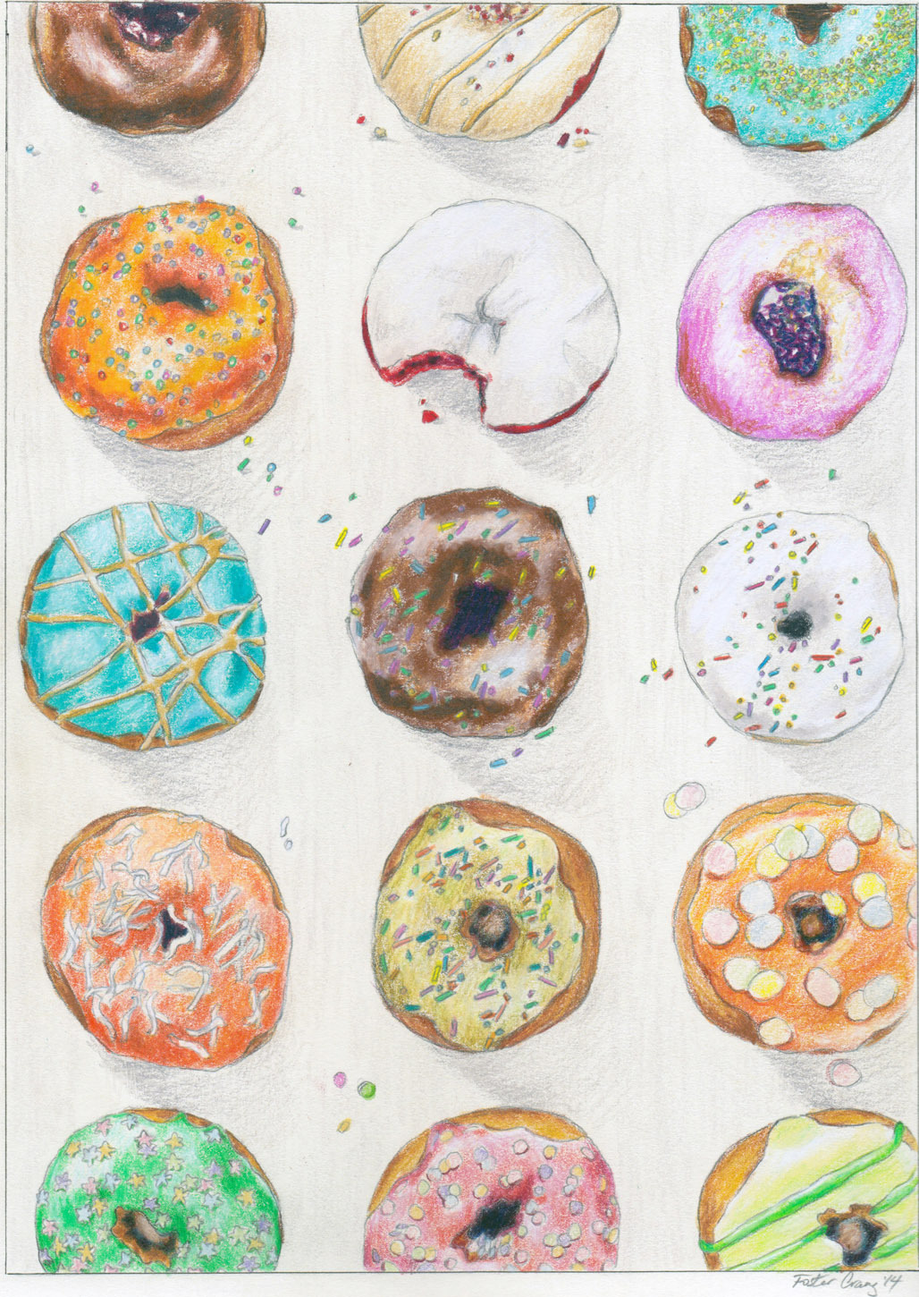 I Go Nuts for Donuts