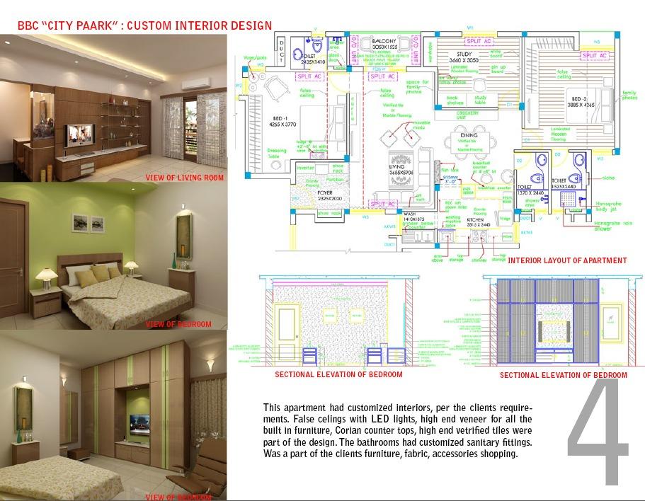 BBC City Paark Custom Interior Design