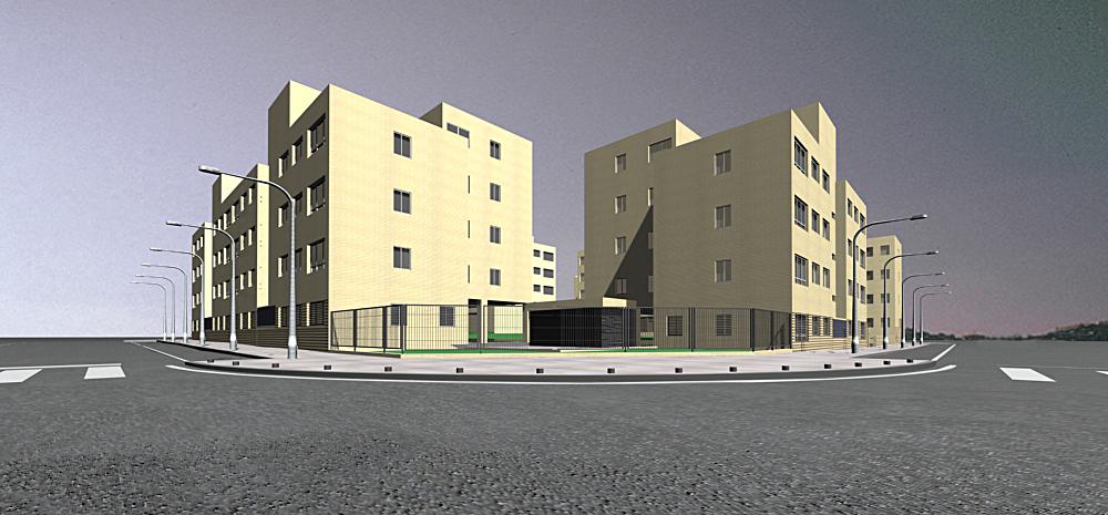 3D Housing model