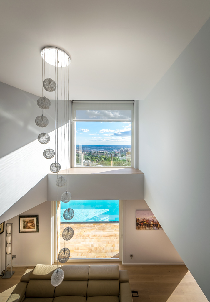 Stairs and views - E House