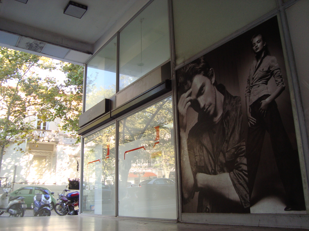 Desing & construction Concept Clothing store befor : Rhodes- Greece by