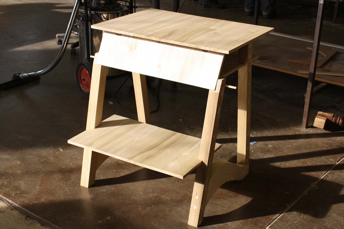 Desk Designed by Nicole Lee