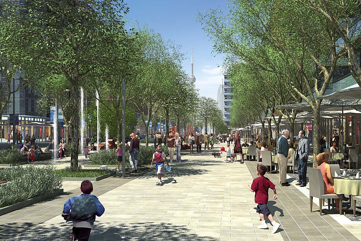 West Don Lands Streetscape And Public Realm Plan Sweeny