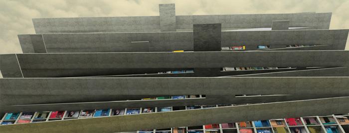 vertical kampung CBD area