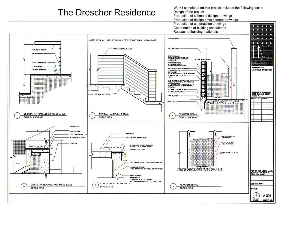 The Drescher Residence-details