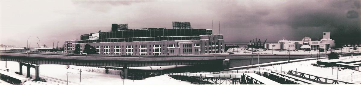 Cleveland Municipal Stadium, Cleveland, Ohio