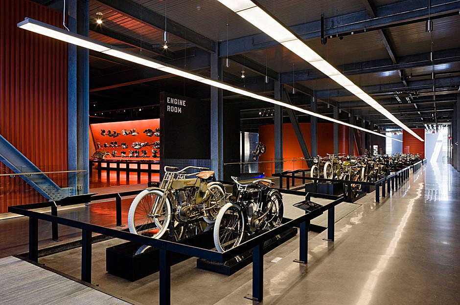 Harley davidson museum biber architects archinect for Milwaukee interior design firms