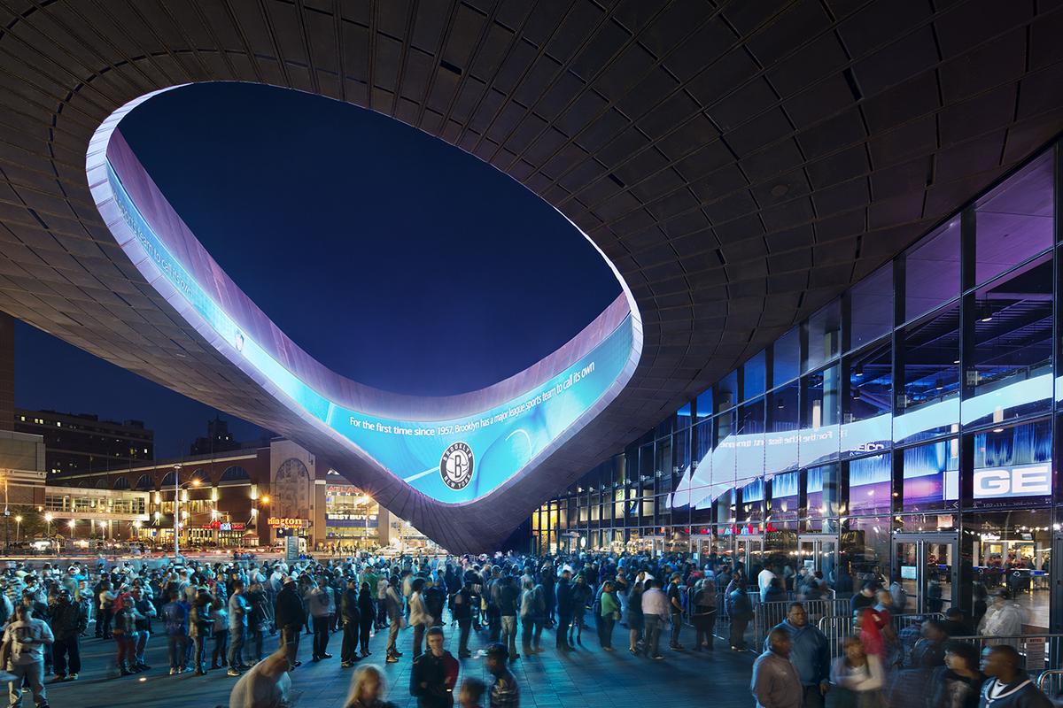 Barclays Center SHoP Architects Archinect