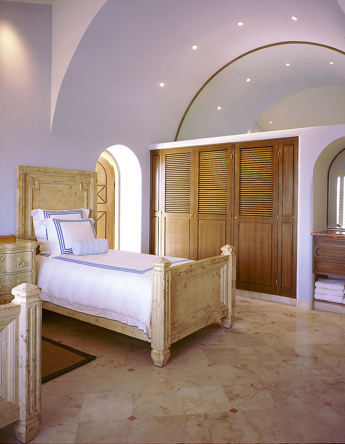 Townhouse bedroom.
