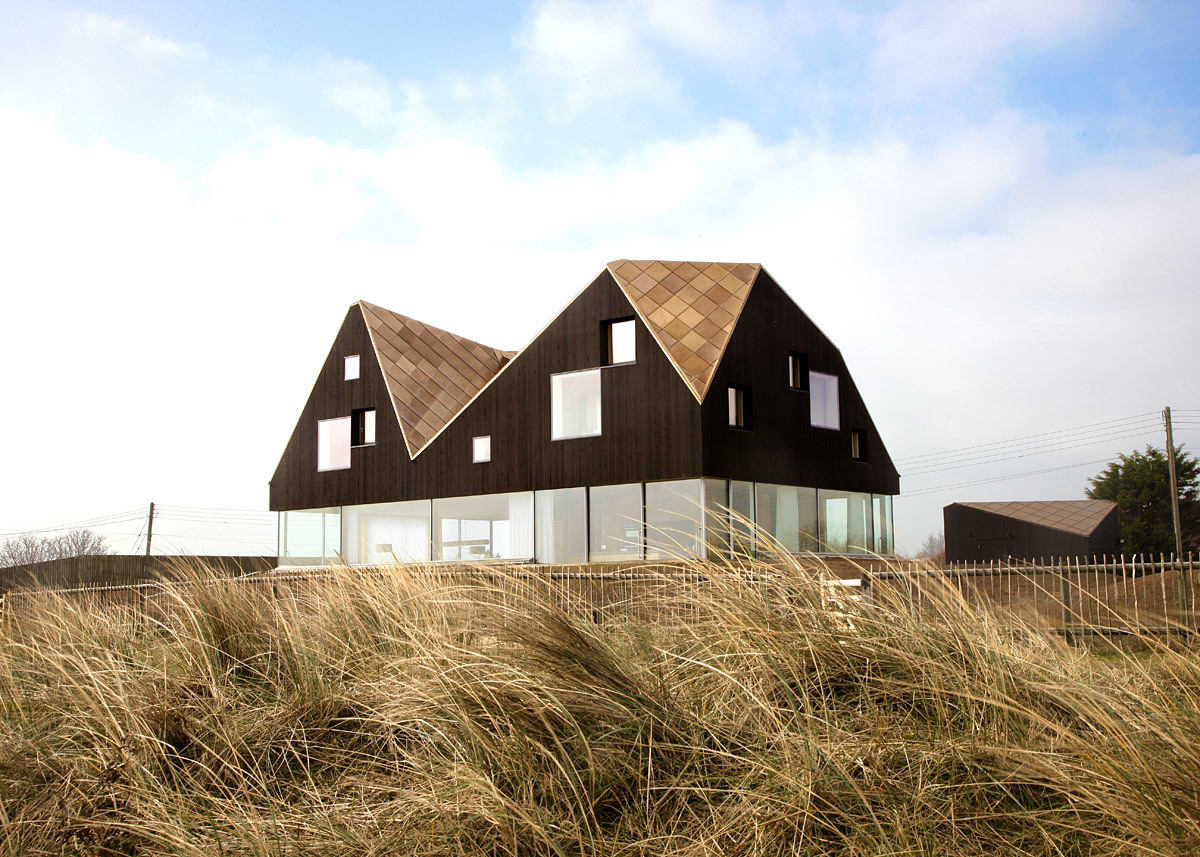 The Dune House by Jarmund Vigsnaes Architects & Mole Architects (Photo: Chris Wright)