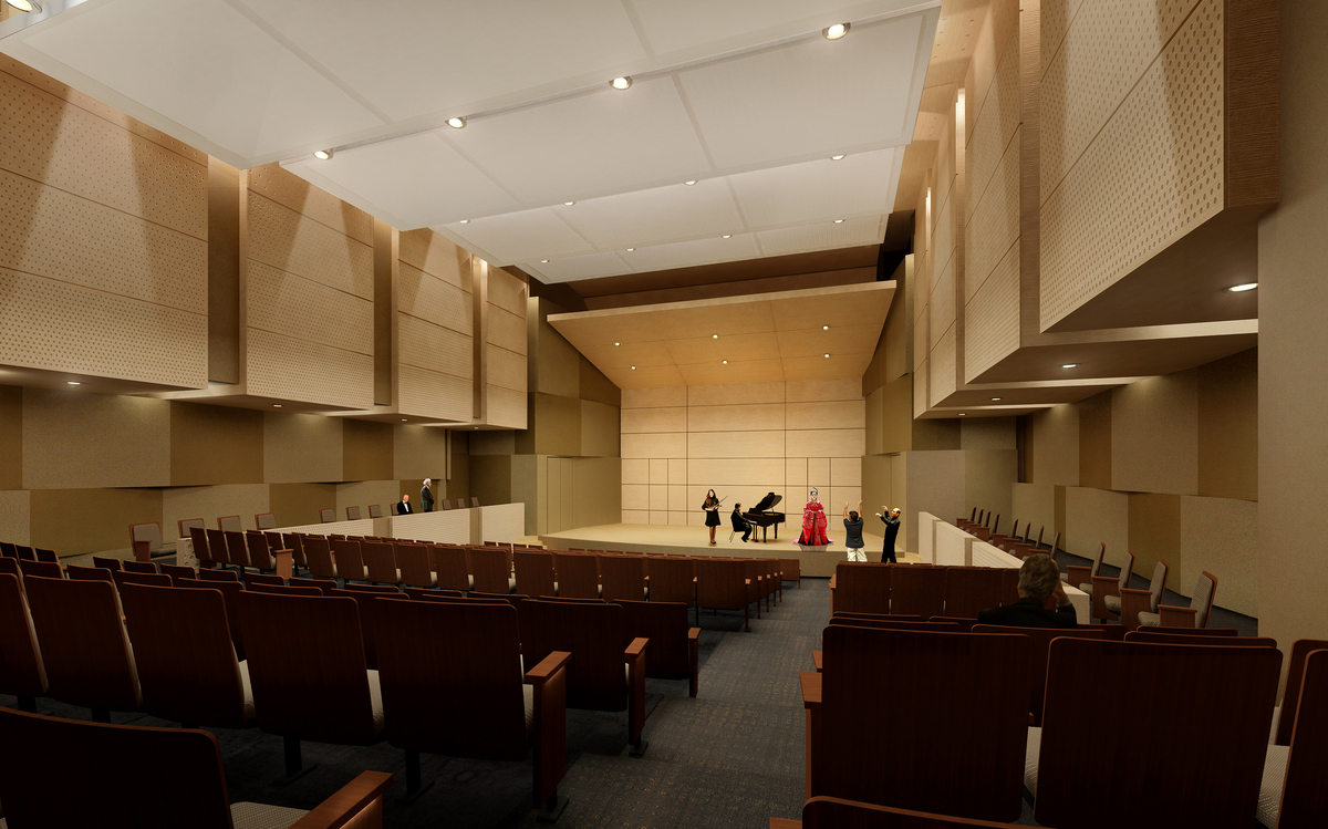 300 seat Recital Hall
