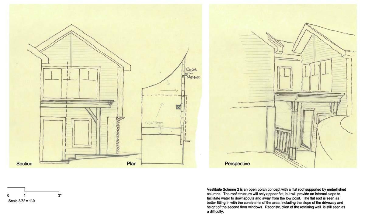 Mohawk Lake Residence - Vestibule Option 2