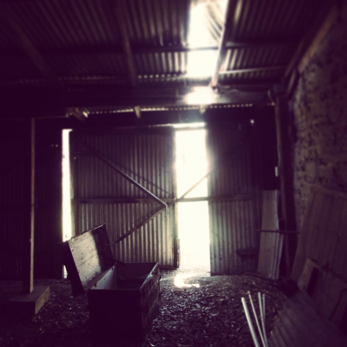 barn: blacksmith shop