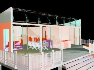 Viz Model of Low Income Housing Container Home-3
