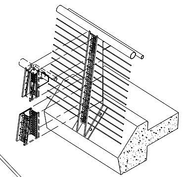 Detailed Drawing of Railing System Developed by Ricardo Soares