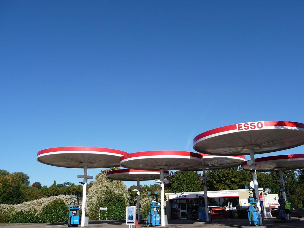 Esso Mobil Station