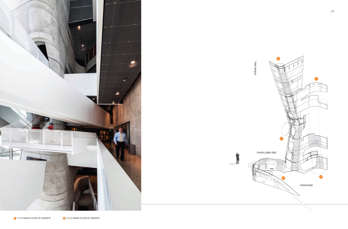 Spread from 'M': The Perot Diagram. Image: Morphosis Architects.