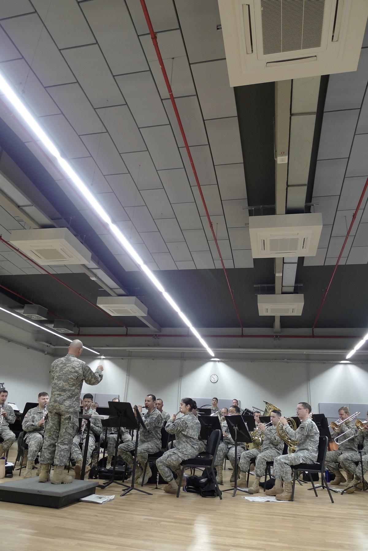 Main Practice Hall