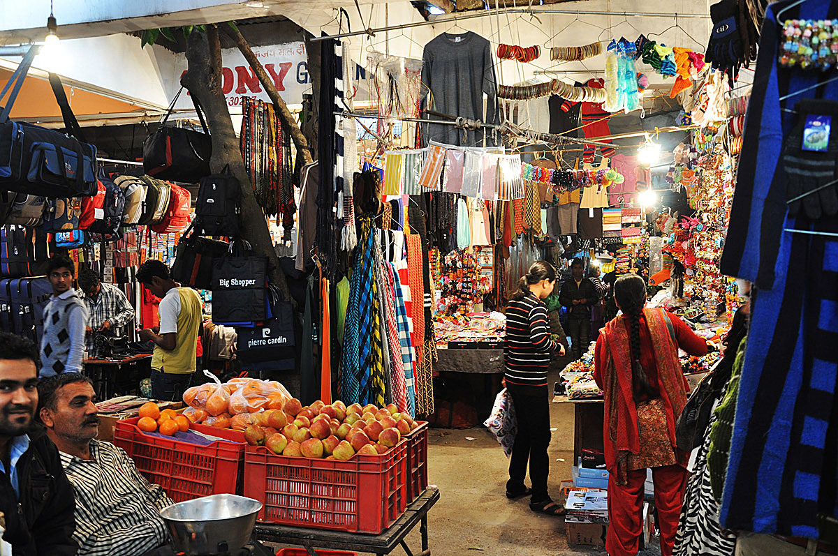 Chandigarh: originally informal, now city-subsidized market