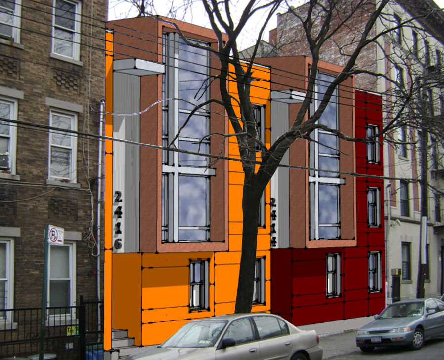 Multi family housing erik heuler archinect for Multi family living