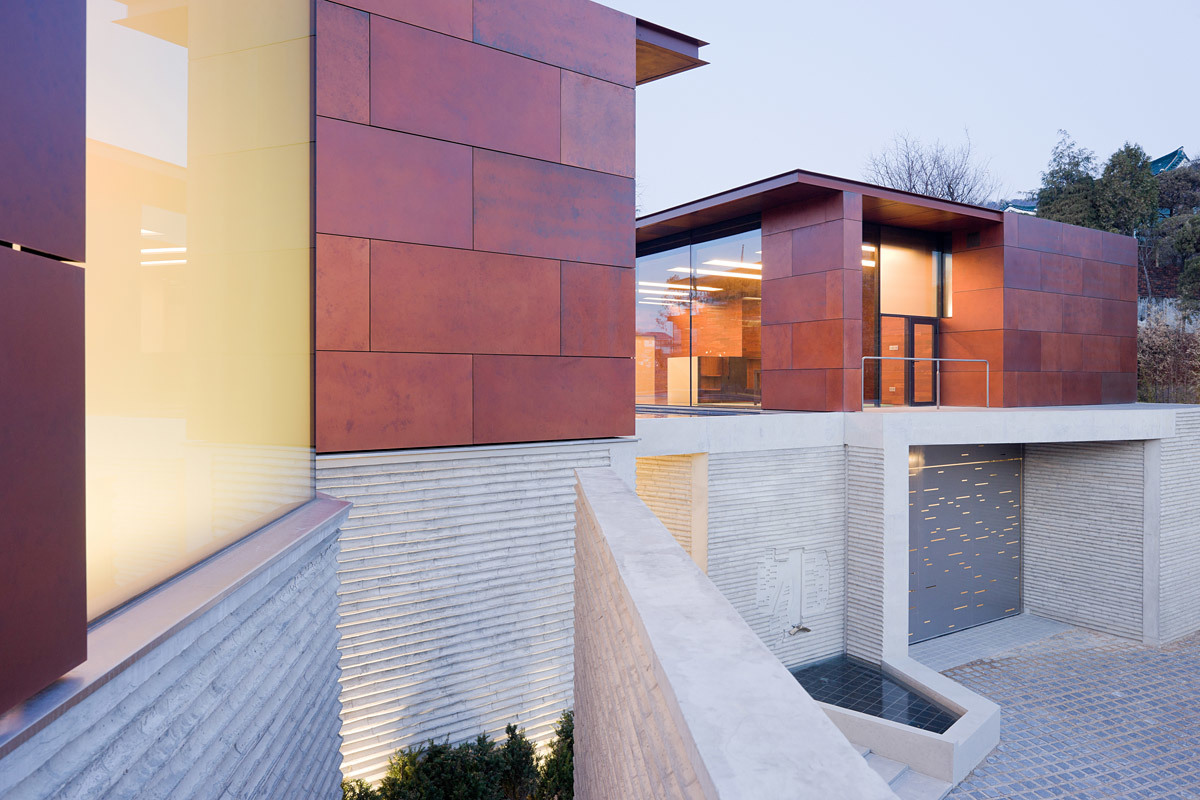 Mixed - Use Building of the year award: Steven Holl Architects with Daeyang Gallery & House, South Korea