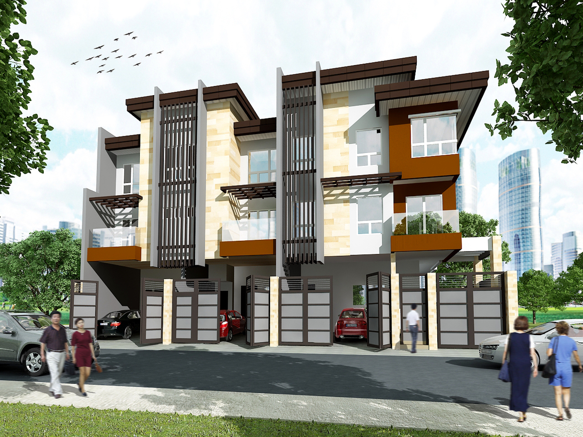 3 Storey 3 Unit Townhouse Rabbi Chester Miranda Archinect
