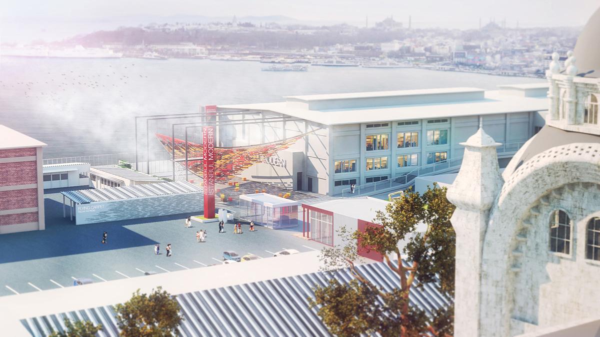 Bird's eye view (Image: ONZ Architects)