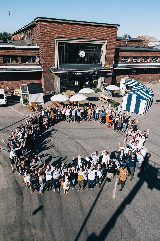Helsinki Design Lab: HDL Global 2013, goodbye event. Photo: Johannes Romppanen