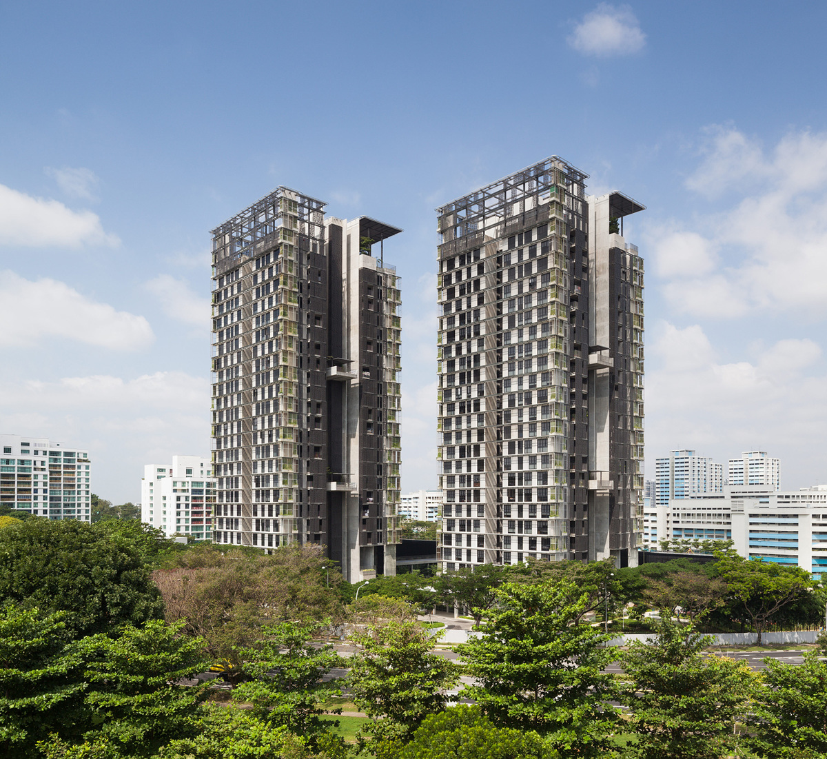 National University of Singapore Faculty Housing, Singapore by MKPL Architects Ltd (Photo: Robert Such)