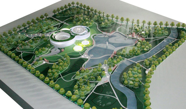 Model (Image- HAO : Holm Architecture Office + Archiland Beijing)