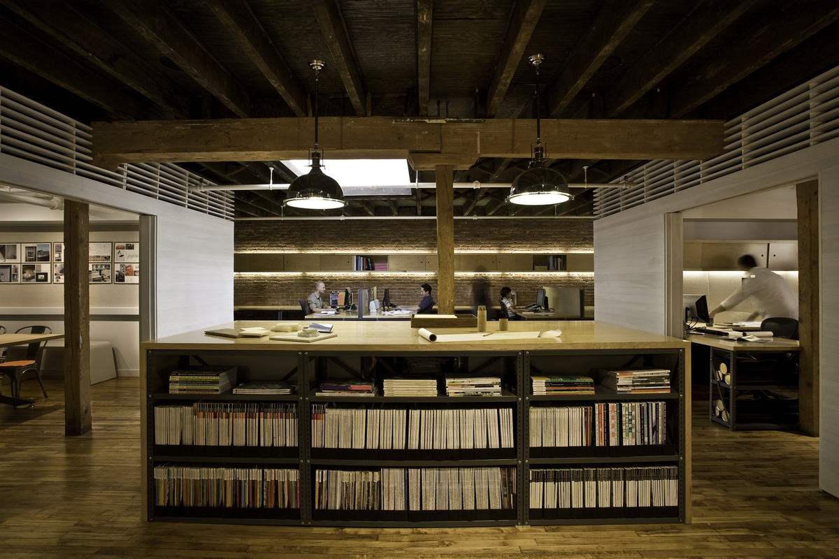 warehouse turned into a loft office | interior design ideas