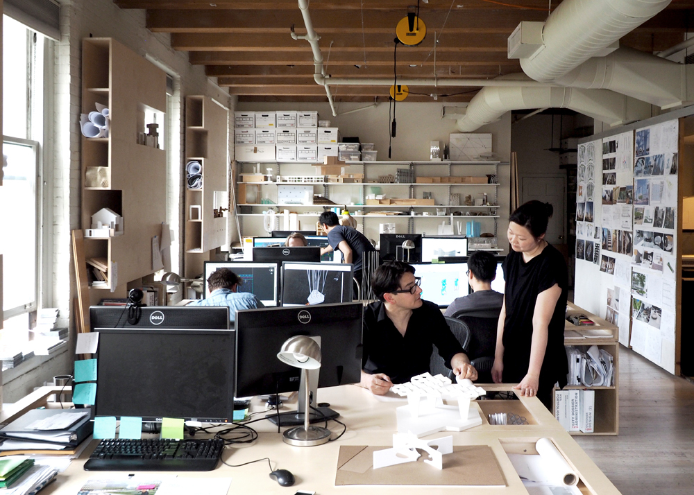 The life of a new architect eric h weler features for Architecture office