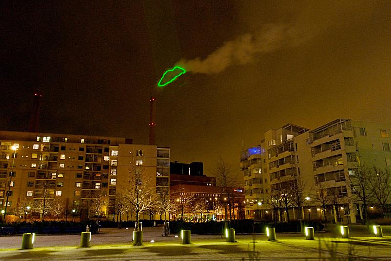 HEHE , Nuage Vert (Green Cloud) via hehe.org.