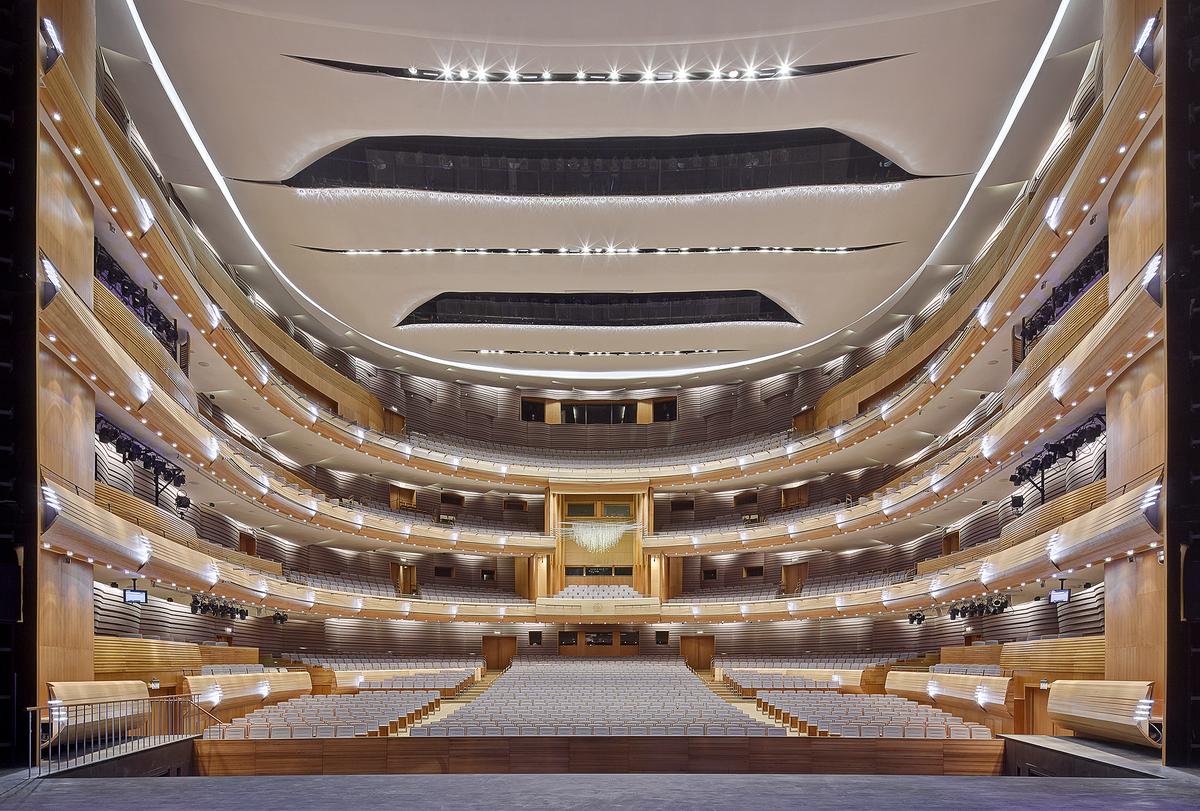 Mariinsky II Theatre Auditorium