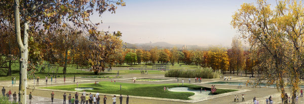 Eco park © West 8 urban design & landscape architecture