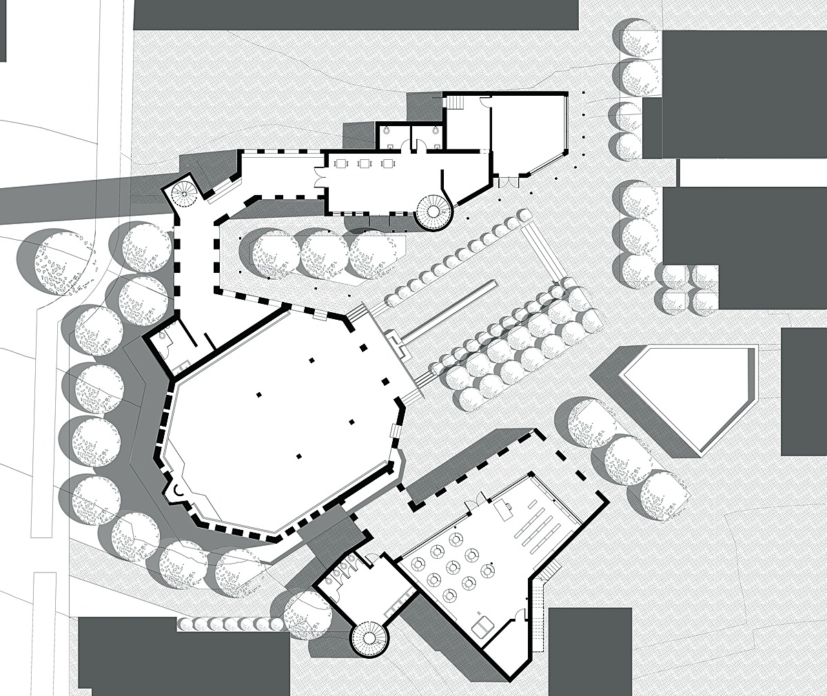 Ground Level Floor Plan